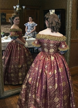 ladies' ball gown bodice